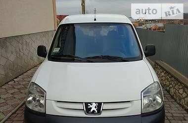 Характеристики Peugeot Partner пасс. Другой