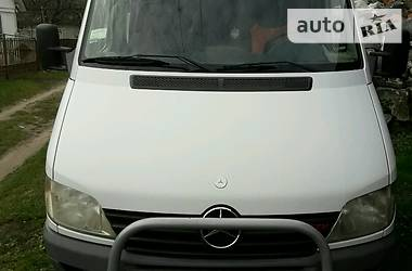 Характеристики Mercedes-Benz Sprinter 211 пасс. Другой