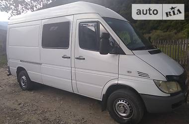 Характеристики Mercedes-Benz Sprinter 211 пасс. Другой