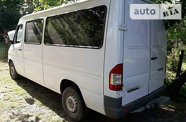 Характеристики Mercedes-Benz Sprinter 213 пасс. Другой