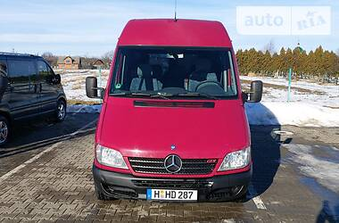 Характеристики Mercedes-Benz Sprinter 213 пасс. Другой