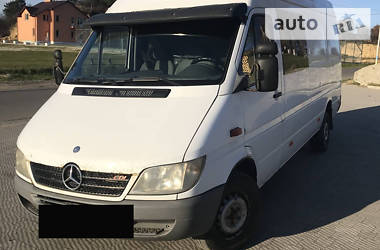 Характеристики Mercedes-Benz Sprinter 311 пасс. Другой