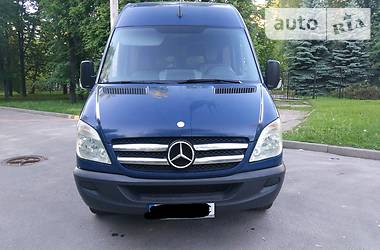 Характеристики Mercedes-Benz Sprinter 315 пасс. Другой