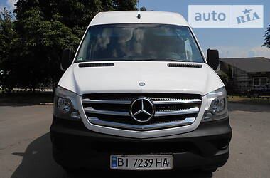 Характеристики Mercedes-Benz Sprinter 316 пас. Інший
