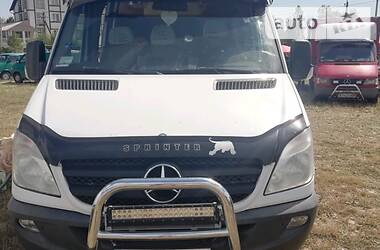 Характеристики Mercedes-Benz Sprinter 318 пасс. Другой