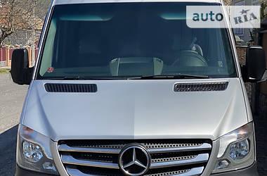 Характеристики Mercedes-Benz Sprinter 319 пасс. Другой