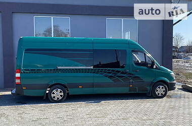 Характеристики Mercedes-Benz Sprinter 319 пасс. Другой