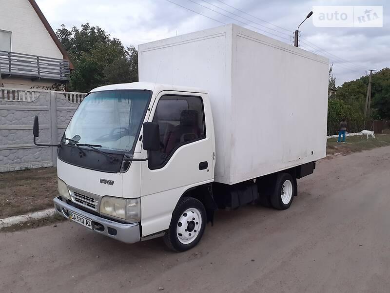 Фургон FAW 1031