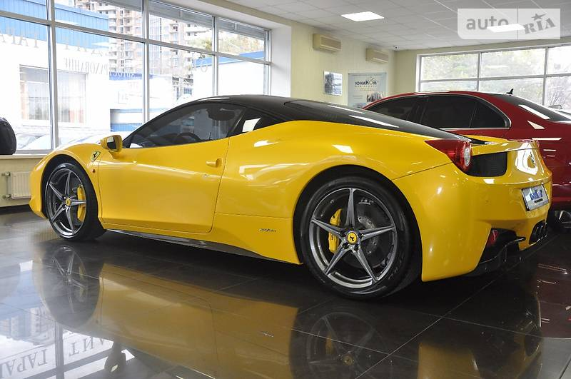 Ferrari 458 Italia 2012 года