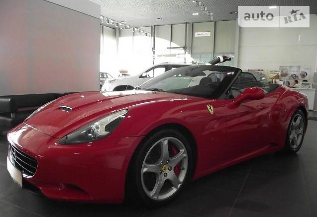 Ferrari California 2012 года