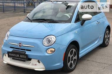 Fiat 500 e eiektrik 2015