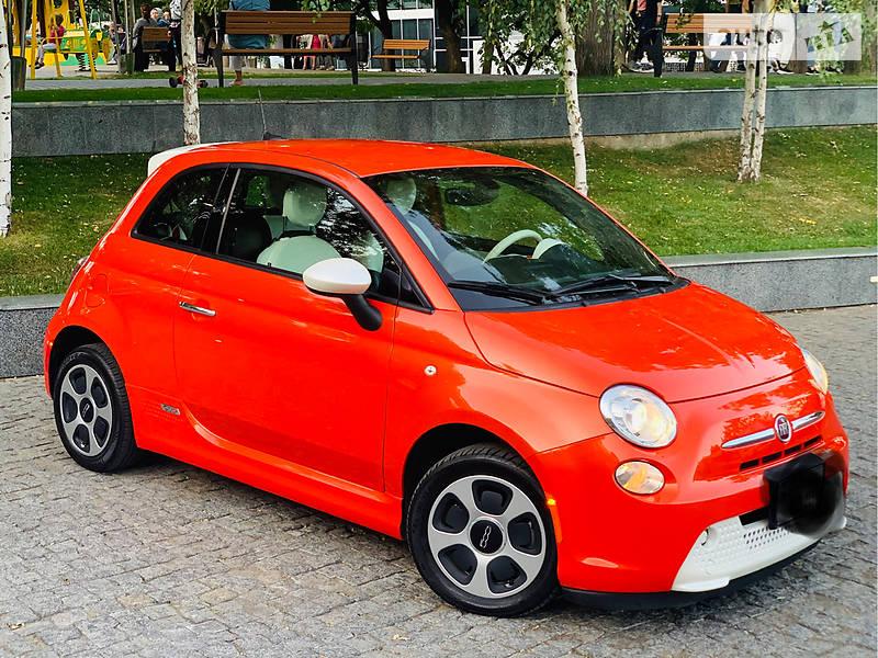 Другой Fiat 500е