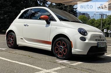 Fiat 500е Sport panorama 2015