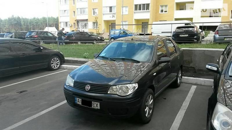 Fiat Albea 2009 года