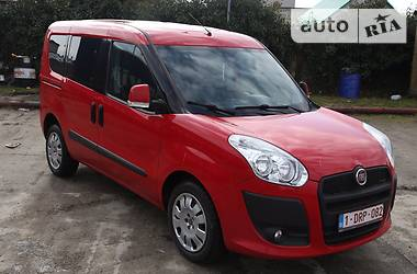 Fiat Doblo пасс. MyLife 1.6 MJT (90) 2012