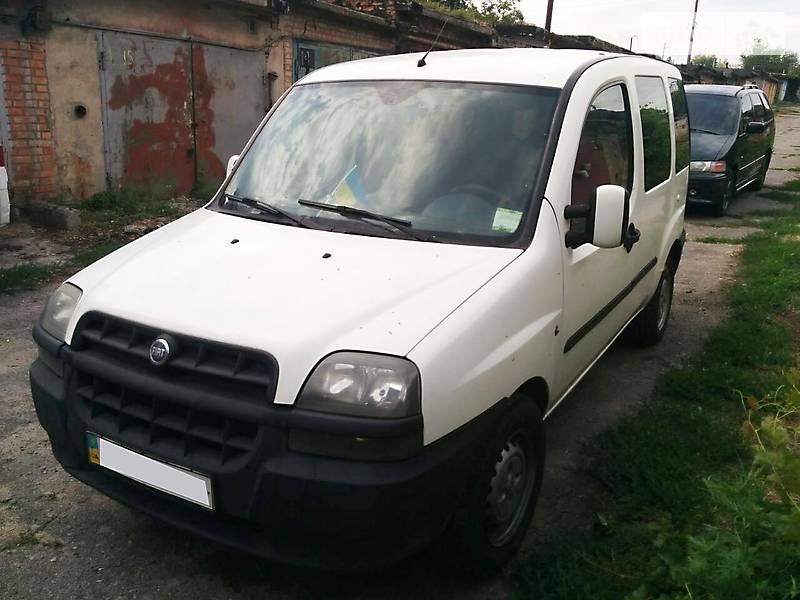Fiat Doblo пасс. 2001 года