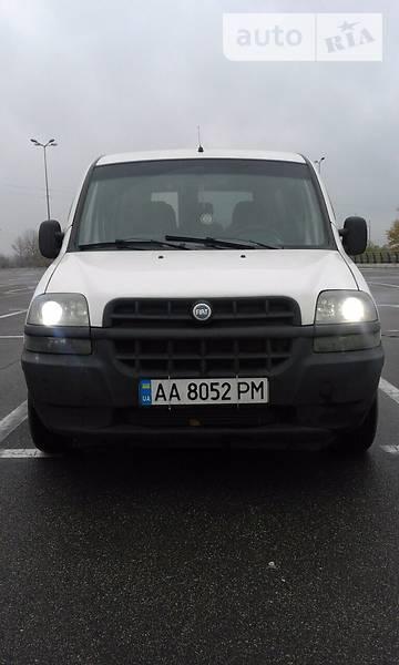 Fiat Doblo пасс. 2002 года