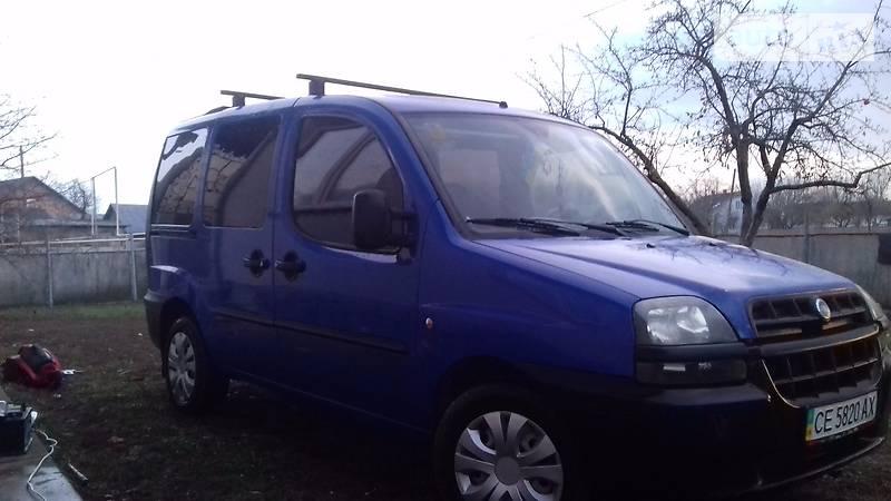 Fiat Doblo пасс. 2005 года