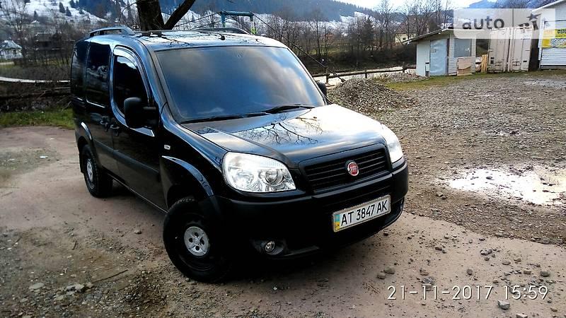 Fiat Doblo пасс. 2008 года