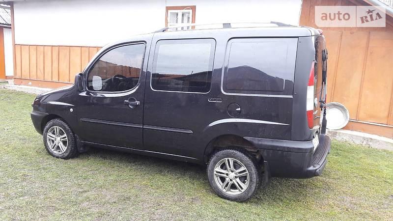 Fiat Doblo пасс. 2005 року