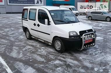 Fiat Doblo пасс.  2001