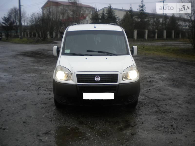 Fiat Doblo пасс. 2008 року