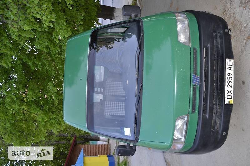 Fiat Ducato груз.