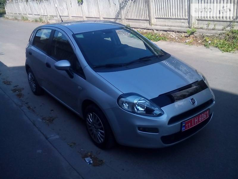Fiat Grande Punto 2012 года
