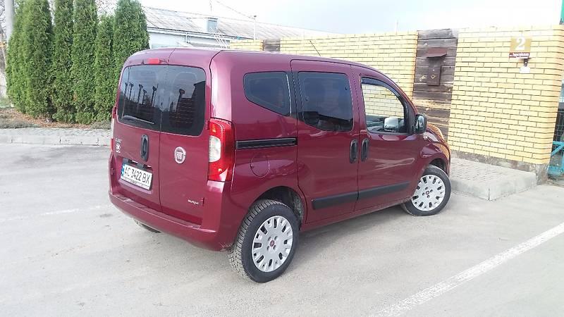 Fiat Qubo пасс. 2011 года