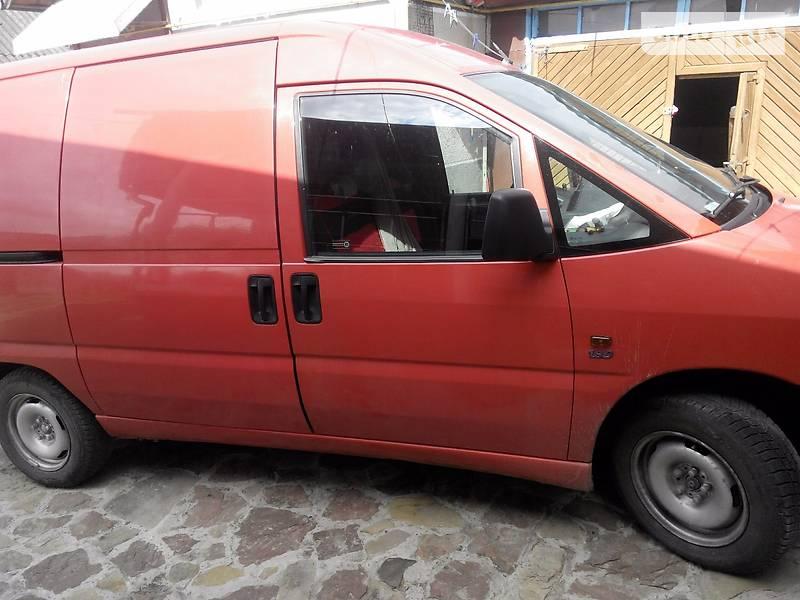 Fiat Scudo 1998 года
