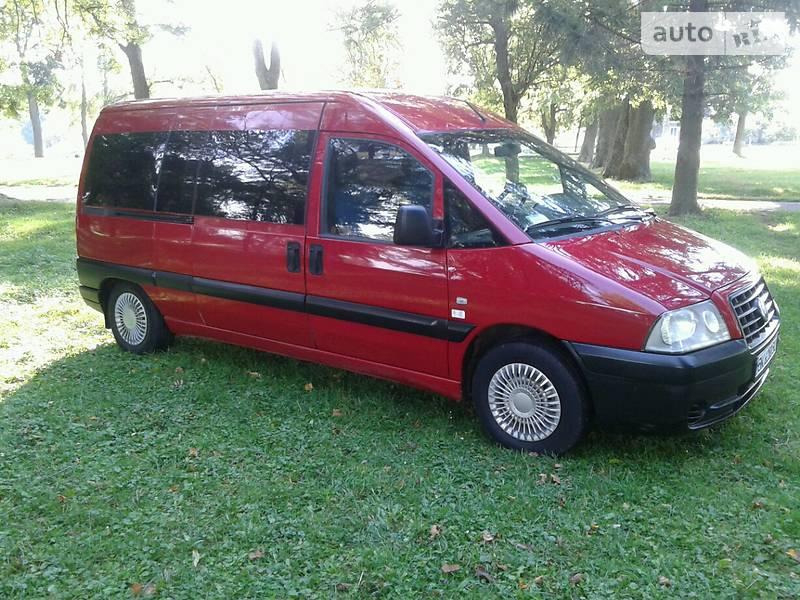 Fiat Scudo 2007 года