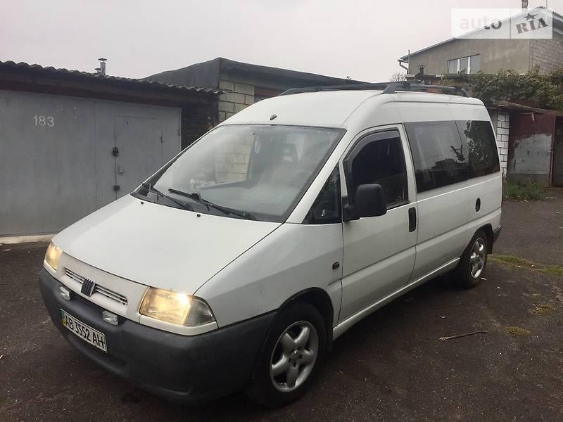 Fiat Scudo 1999 года