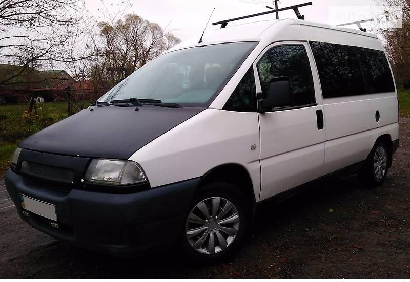 Fiat Scudo 2002 года