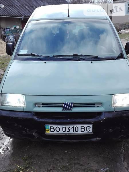 Fiat Scudo 1999 року