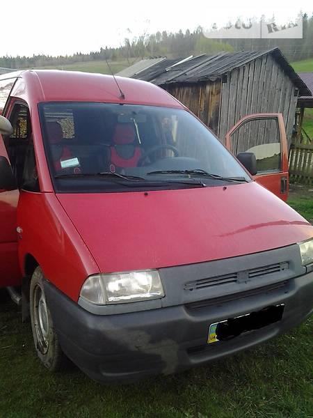 Fiat Scudo 2001 года