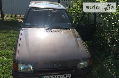 Ford Escort 1.3 cl  1986