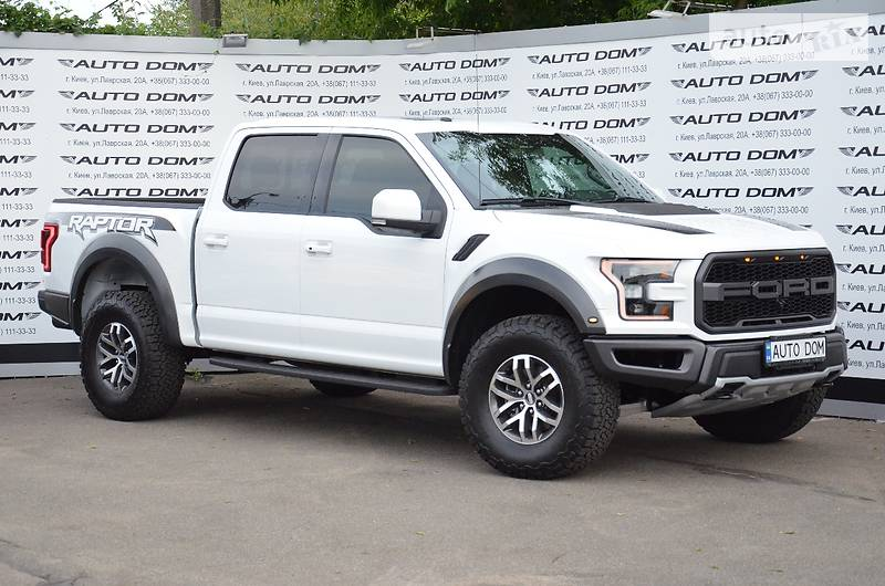 Ford F-150 2017 года