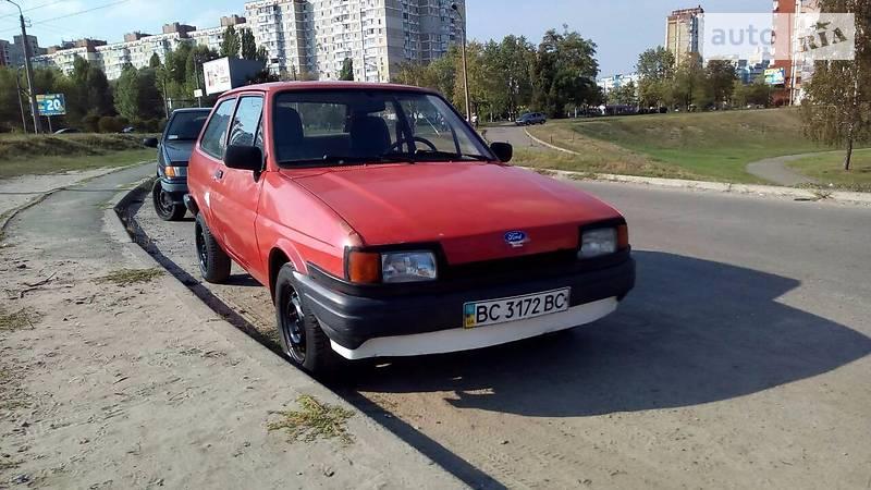 Ford Fiesta 1987 года