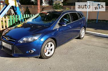 Ford Focus Wagon 1.0 ecoboost 2013