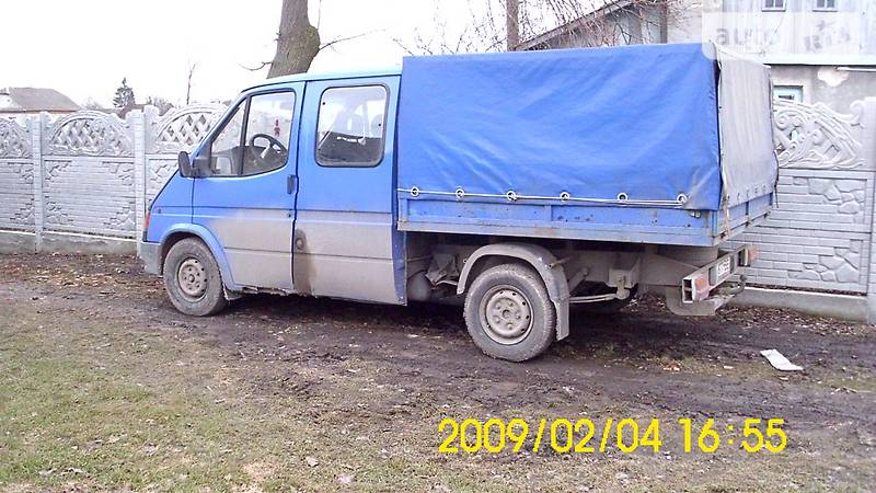 Двигатель форд транзит 2.4 дизель