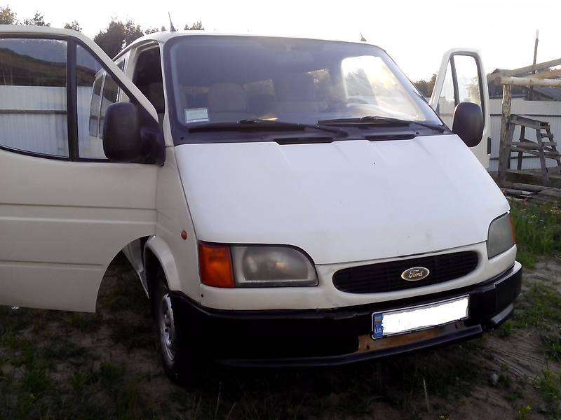форд транзит 1998 технические характеристики дизель