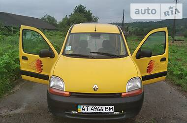 Характеристики Renault Kangoo груз. Фургон