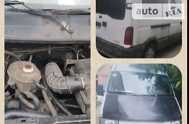 Характеристики Renault Master груз. Фургон