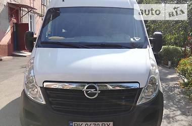 Характеристики Opel Movano груз. Фургон