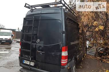 Характеристики Mercedes-Benz Sprinter 313 груз. Фургон