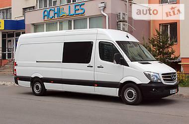 Характеристики Mercedes-Benz Sprinter 316 груз. Фургон
