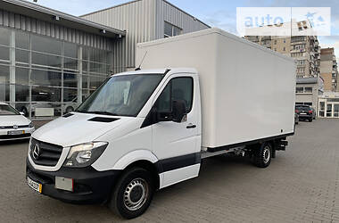 Характеристики Mercedes-Benz Sprinter 316 груз. Фургон