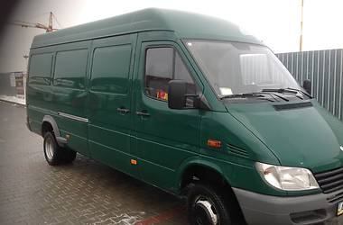Характеристики Mercedes-Benz Sprinter 413 груз. Фургон