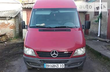 Характеристики Mercedes-Benz Sprinter 413 груз. Фургон