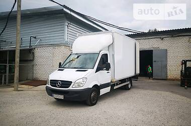 Характеристики Mercedes-Benz Sprinter 516 груз. Фургон